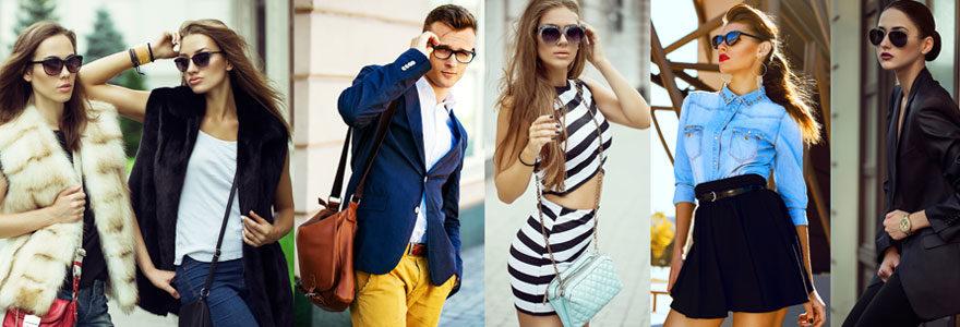 Des vêtements stylés